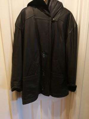 Black leather jacket for Sale in Falls Church, VA