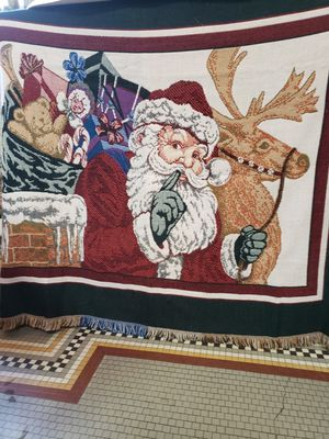 Santa Throw Blanket for Sale in Riverbank, CA
