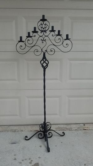 Wrought Iron Candle Holder for Sale in Boynton Beach, FL