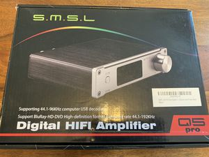 SMSL Q5 Pro USB remote control audio amplifier for Sale in Tampa, FL