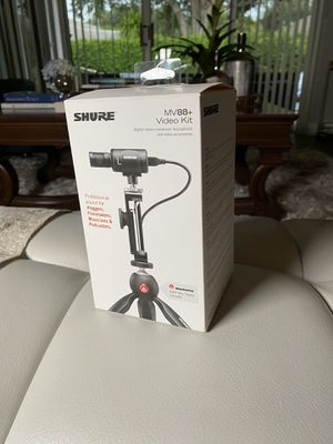 Shure MV88+ Vídeo Kit for Sale in Coral Springs, FL
