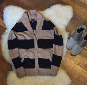 Tommy Hilfiger striped cardigan for Sale in Pittsburgh, PA