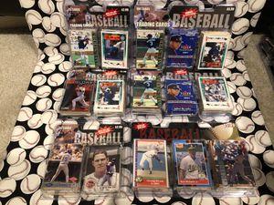 Unopened baseball card packs Lot of 575+ sealed Cards for Sale in Warrenton, VA