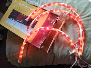 Xmas lights Decorations in excellent condition and works great $10 for Sale in Los Angeles, CA