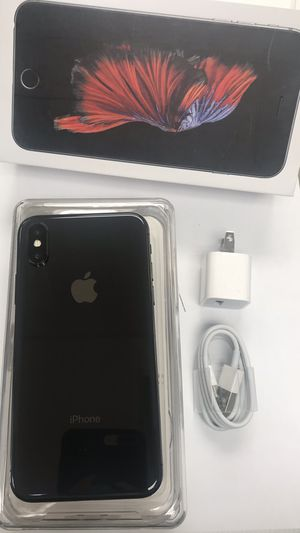 Factory Unlocked Iphone X 64GB. Excellent Condition. for Sale in Somerville, MA