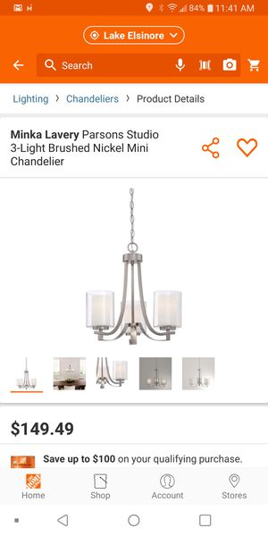 Chandelier new for Sale in Lake Elsinore, CA
