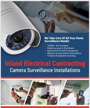 Camera Surveillance for Sale in Perris, CA
