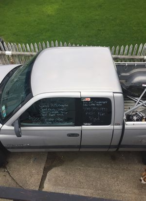 98 dodge 1500 for parts would like to sell the whole truck fenders and front doors are sold back doors are very nice good 318 transmission transfer c for Sale in Dunlevy, PA