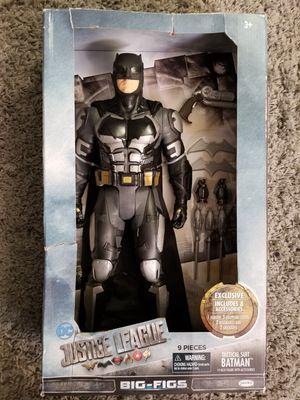 """DC Justice League Tactical Suit Batman 19 Inch Big-Figs Jakks 19"""" Action Figure for Sale in Tampa, FL"""