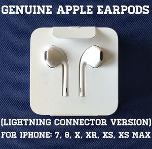 Genuine New Apple Headphones (Lightning connector version) for Sale in Falls Church, VA