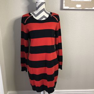 Michael Kors red and black sweater dress size L for Sale in Glendale, AZ