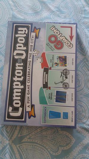 Compton Opoly new in box for Sale in Santa Ana, CA
