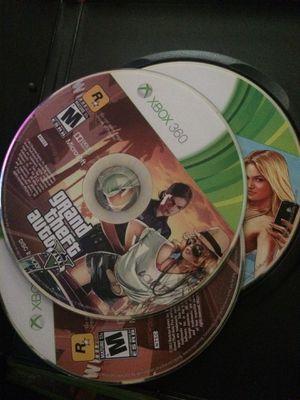 xbox 360 gta 5 but its in a madden case for Sale in Newport News, VA
