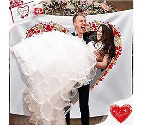 New Eye Catching Backdrop Game Kit for Photography/Wedding for Sale in Spring, TX