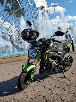 2018 Kawasaki Z125 Pro Motorcycle for Sale in Queens, NY