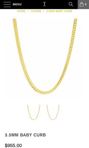 10k Miami Cuban link for Sale in Hollywood, FL