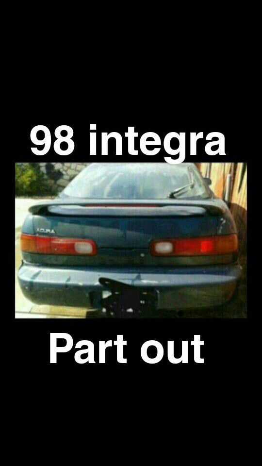 Acura Integra part out