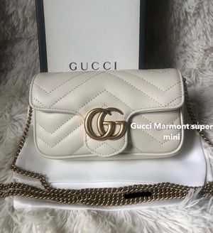 Gucci GG Marmont matelassé leather super mini bag for Sale in Brea, CA