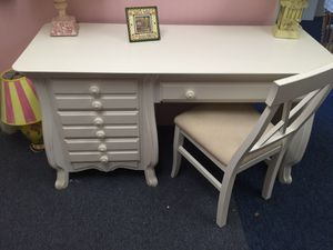 Solid wood desk and chair for Sale in Philadelphia, PA
