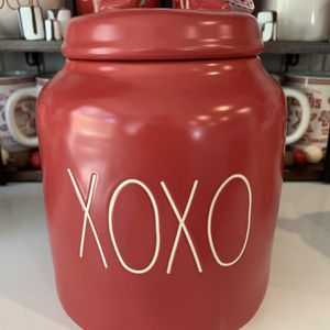 Rae Dunn XOXO Canister for Sale in Ontario, CA