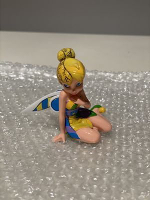 Walt Disney Tinkerbell Tinker Bell 2011 Romero Britto collectible figurine for Sale in Dallas, TX