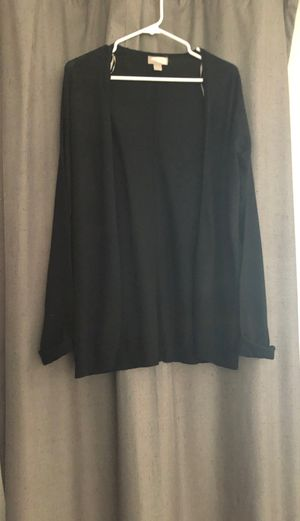 Black open front cardigan F21 for Sale in Milwaukee, WI