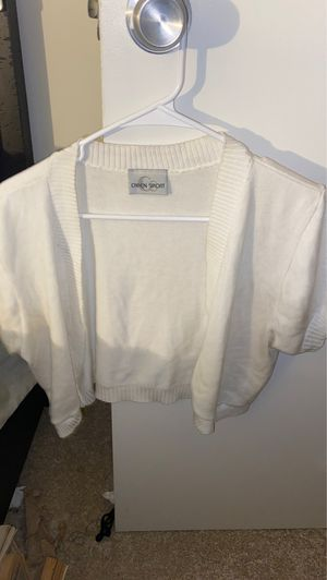 White Cardigan for Sale in Norwalk, CT