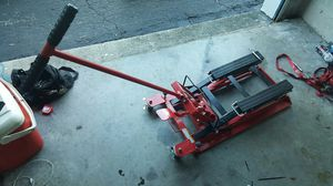 Motorcycle jack barely used for Sale in Lakeland, FL