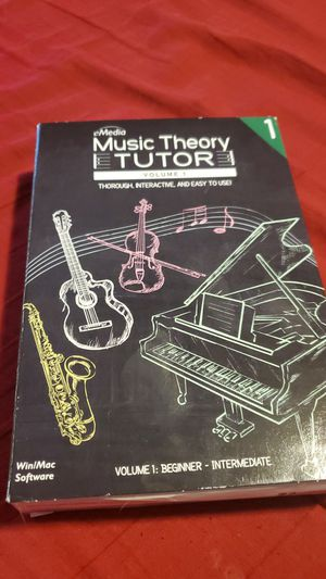 Emedia music theory vol 1 for Sale in Castle Rock, CO