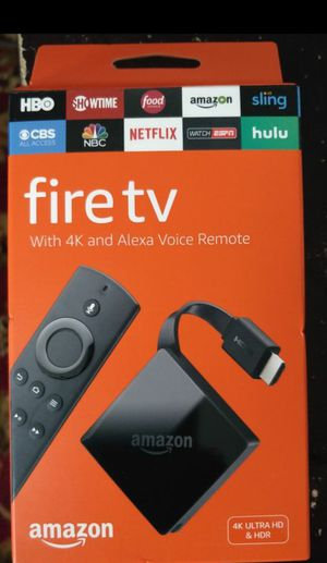 Amazon Fire TV 4K for Sale in Richmond, VA