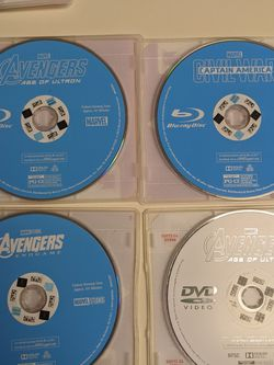 Blu-ray Avengers Movies Plus More for Sale in San Jose,  CA