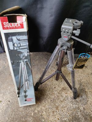 DSLR camera or camcorder phone tripod - new for Sale in Essex, MD