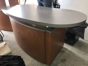 Office furniture-registration counter/desk 2x for Sale in San Diego, CA