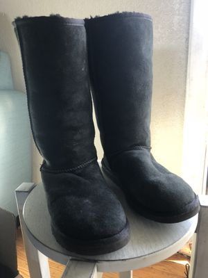 Uggs Black boots size 7 woman for Sale in Oakland, CA