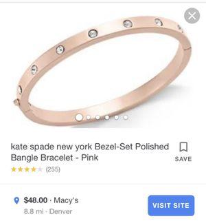 Kate Spade Rose gold bracelet for Sale in Denver, CO