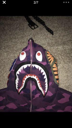 Purple Bape Hoodie for Sale in Germantown, MD