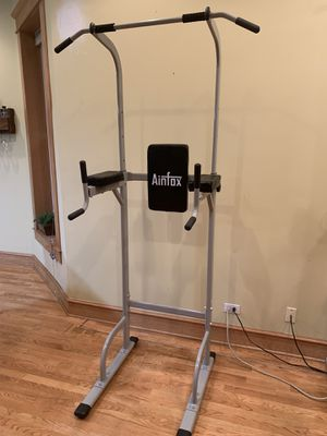 Free standing pull-up and dip bar for Sale in Chicago, IL