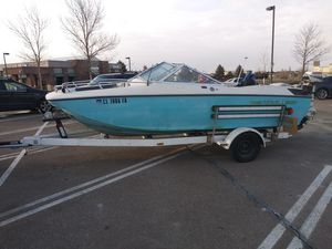 17' power boat, 2 motors,and lots of toys for Sale in Denver, CO