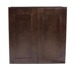 Design House Brookings Plywood Ready to Assemble Shaker 27x12x30 in. 2-Door Wall Kitchen Cabinet for Sale in Dallas, TX