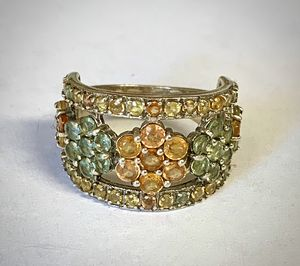 Assorted gemstone flower ring for Sale in Phoenix, AZ