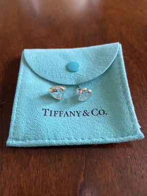 Tiffany & Co. Elsa Peretti full heart stud earrings for Sale in Elmhurst, IL