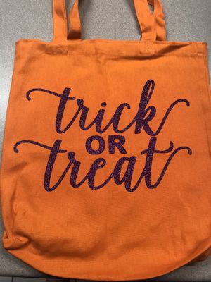 Customized trick or treat bags for Sale in San Antonio, TX