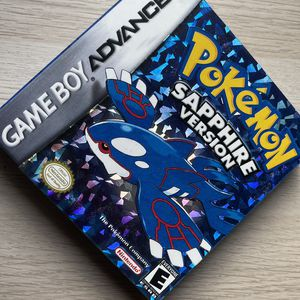 [reproduction] Pokémon Sapphire Version With Box for Sale in Bellevue, WA