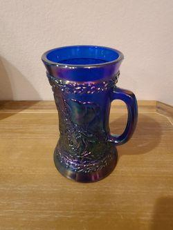 Vintage Fenton 1976 America Bicentennial Carnival Glass Mug for Sale in Westfield,  IN