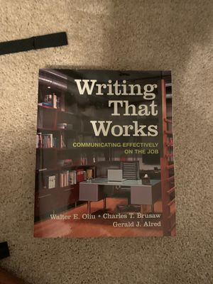 Writing that Works college textbook for Sale in Fishers, IN