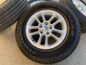 "17"" Jeep Grand Cherokee Wheels 245 70R17 Tires 70 17 Rims 5x5 for Sale in Rio Linda, CA"