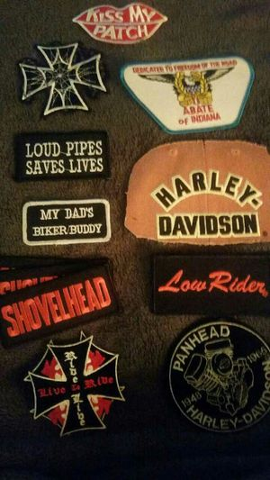 Motorcycle patches for Sale in Gary, IN
