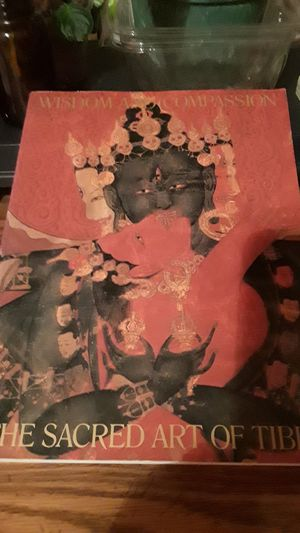 Tibetan Art Book huge coffee table style for Sale in Mount Laurel, NJ