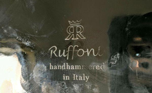 Ruffoni copper stock pot