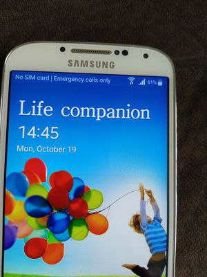 SAMSUNG GALAXY S4 . UNLOCKED. for Sale in Pasco, WA